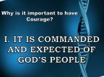i it is commanded and expected of god s people