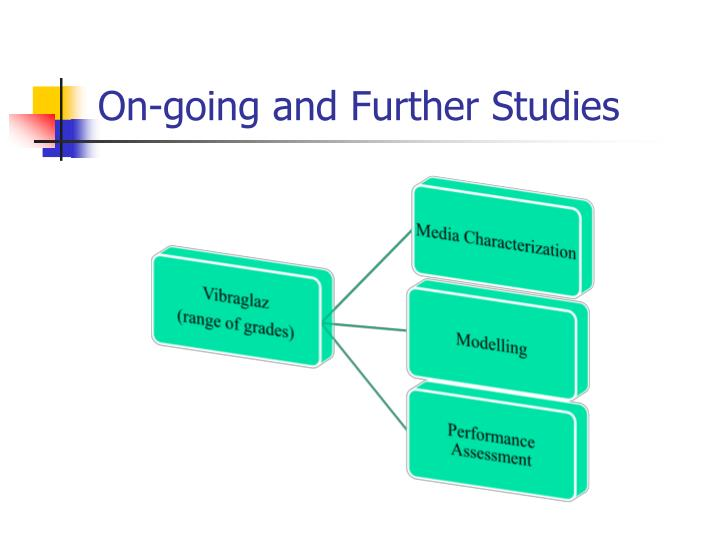 On-going and Further Studies