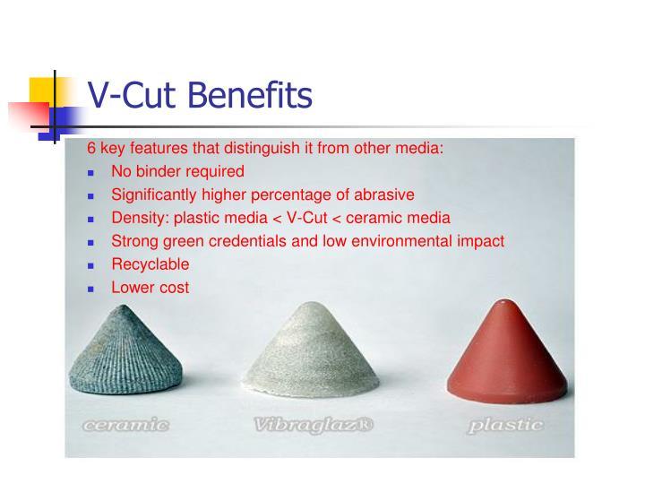 V-Cut Benefits