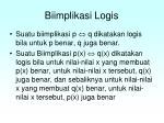 biimplikasi logis