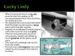 lucky lindy3