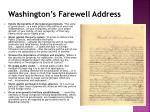 washington s farewell address1