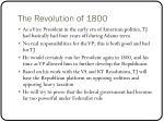 the revolution of 18001