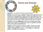 karma and samsara