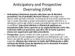 anticipatory and prospective overruling usa