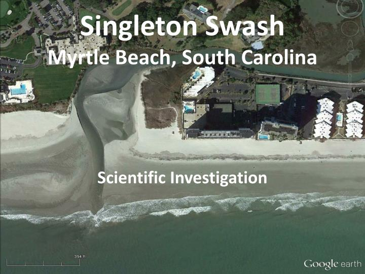 singleton swash myrtle beach south carolina n.