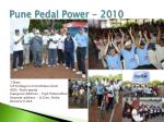 pune pedal power 2010