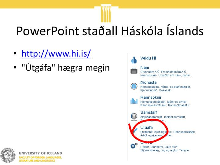 powerpoint sta all h sk la slands n.