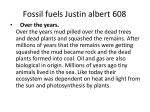 fossil fuels justin albert 6081