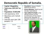 democratic republic of somalia