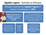 ogaden region somalia vs ethiopia