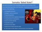 somalia failed state