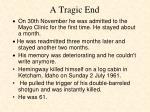 a tragic end