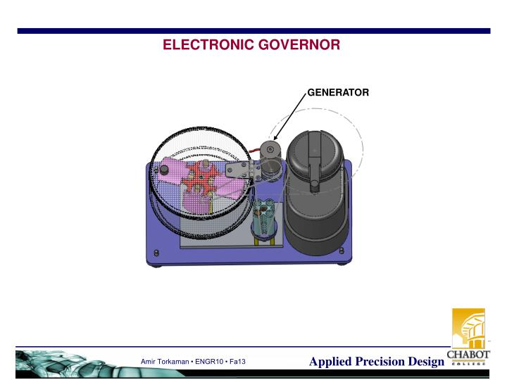 ELECTRONIC GOVERNOR