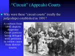circuit appeals courts