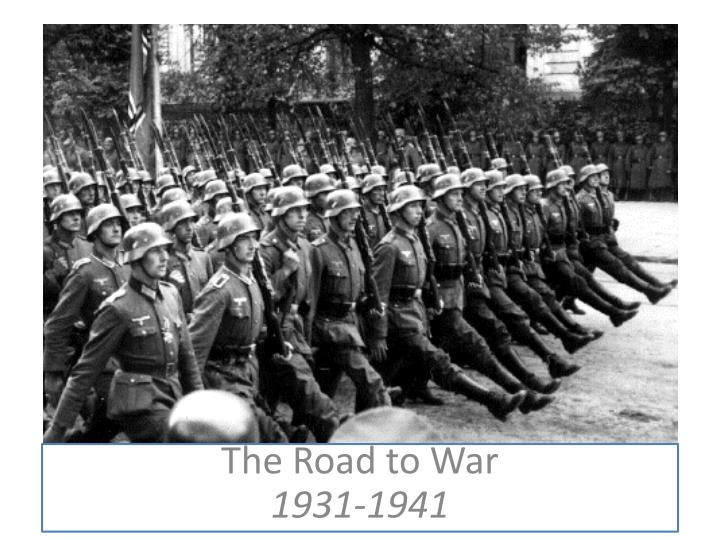 the road to war 1931 1941 n.