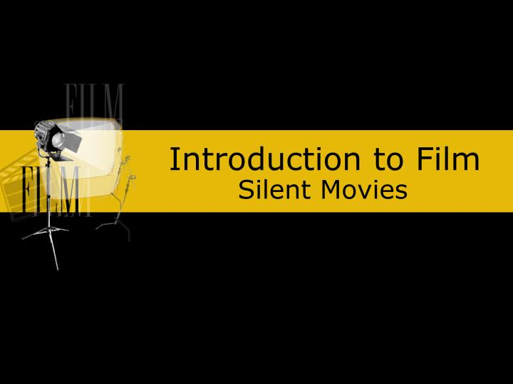introduction to film n.