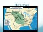 pike s route