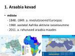 1 araabia kevad