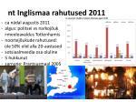 nt inglismaa rahutused 2011