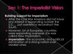 sec 1 the imperialist vision