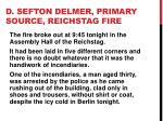 d sefton delmer primary source reichstag fire1