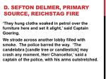 d sefton delmer primary source reichstag fire7