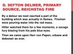 d sefton delmer primary source reichstag fire8