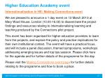 higher education academy event1