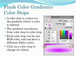 flash color gradients color stops