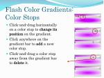 flash color gradients color stops1