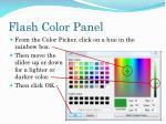 flash color panel1