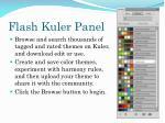 flash kuler panel1
