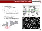 following global guidance