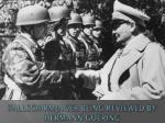 fallschirmjager being reviewed by hermann goering