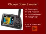 choose correct answer12