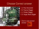 choose correct answer13