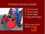 choose correct answer30