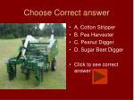 choose correct answer43