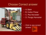 choose correct answer9