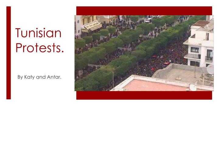 tunisian protests n.