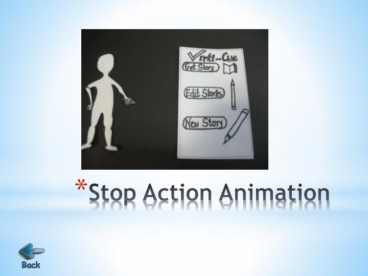 Stop Action Animation