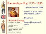 rammohun roy 1773 1833