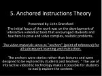 5 anchored instructions theory