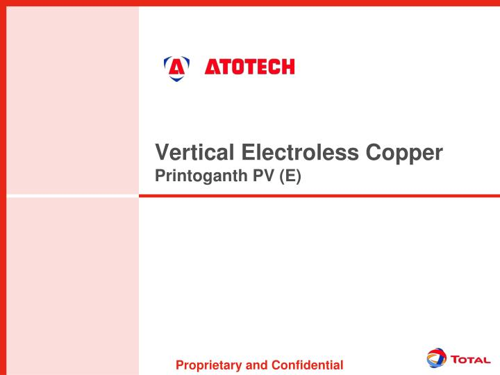 Vertical Electroless Copper