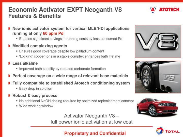 Activator Neoganth V8 –