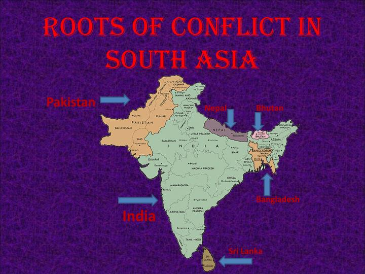 roots of conflict in south asia n.
