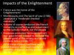 impacts of the enlightenment