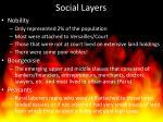 social layers