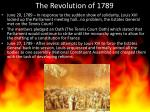 the revolution of 17891
